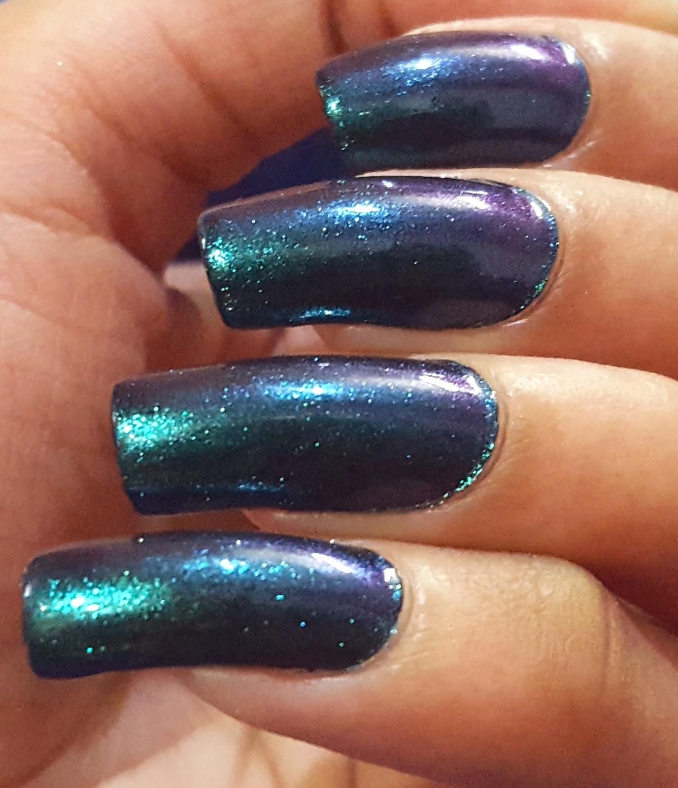Ahoy! Nails!!: Stay Quirky Nail Polish Black Magic -1108 Talisman ...