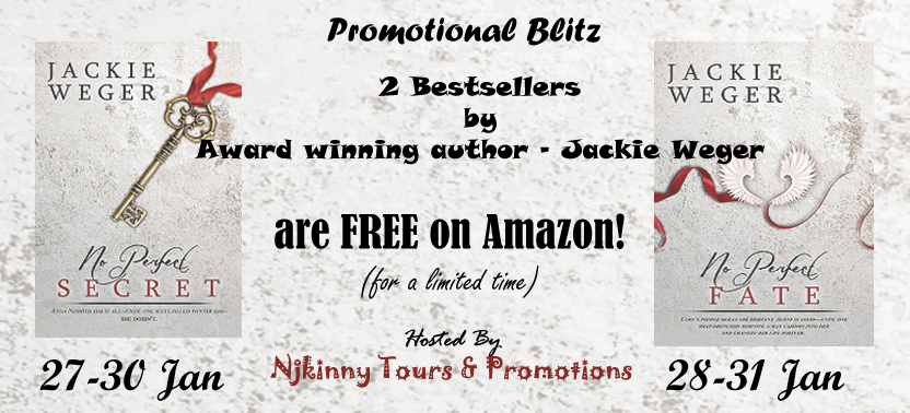 Promo Blitz: No Perfect Secret and No Perfect Fate by Jackie Weger