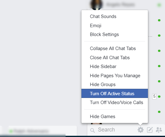 How To Turn Off Chat For One Person On Facebook Messenger
