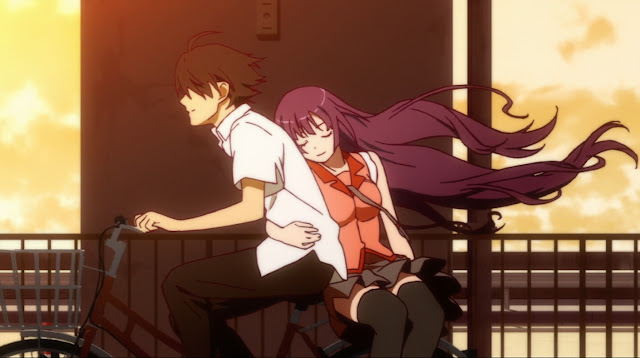 Bakemonogatari Episode 15 011 Top 25 Anime Romance Yang Harus Kamu Tonton Bersama Pasanganmu di Hari Valentine