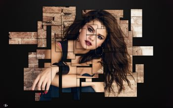 Wallpaper: Fan Art of Selena Gomez