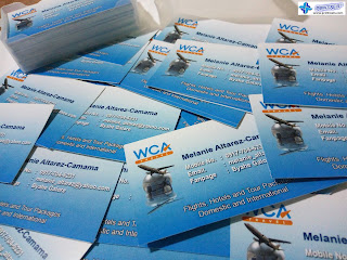 Business Cards for WCA Travel
