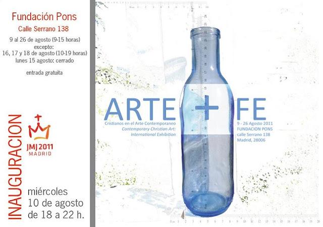Exposición. Arte + Fe en la fundación Pons por la JMJ