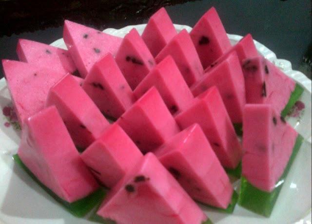 Resep Puding Semangka