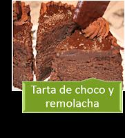 LA MEJOR TARTA DE CHOCOLATE Y REMOLACHA CON THERMOMIX