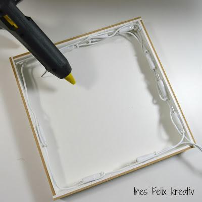 ines felix kreatives zum nachmachen beleuchteter ikea rahmen mit spr chen. Black Bedroom Furniture Sets. Home Design Ideas