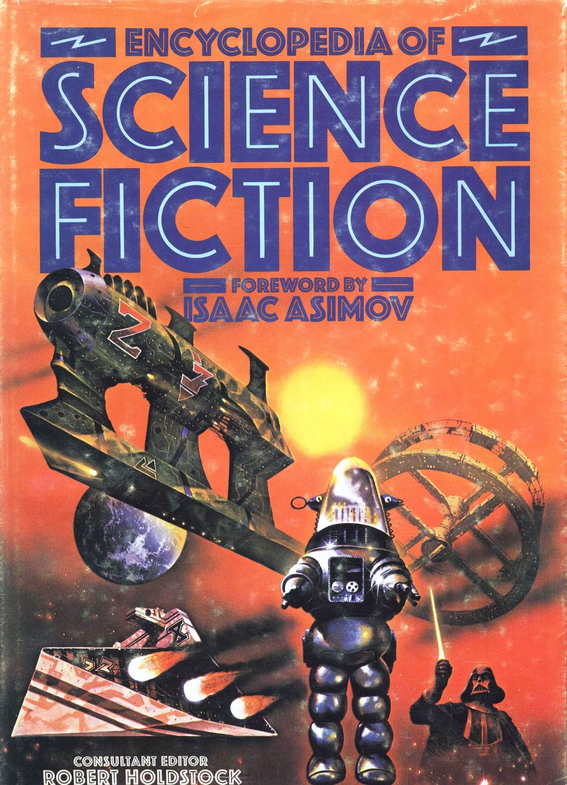 'The Encyclopedia of Science Fiction' edited by Robert Holdstock. '