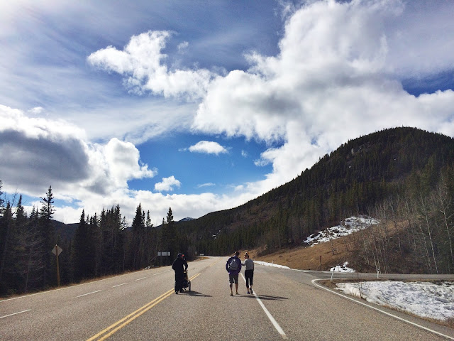 Hiking with your family in Bragg Creek