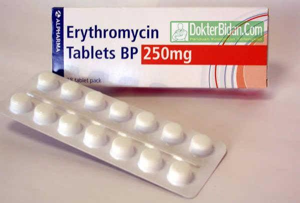 Erythromycin Obat Anti Bakteri Akut - Peringatan Dosis Aturan Pakai Dan Efek Sampingnya Bagi Pasien Anak Anak Dan Dewasa