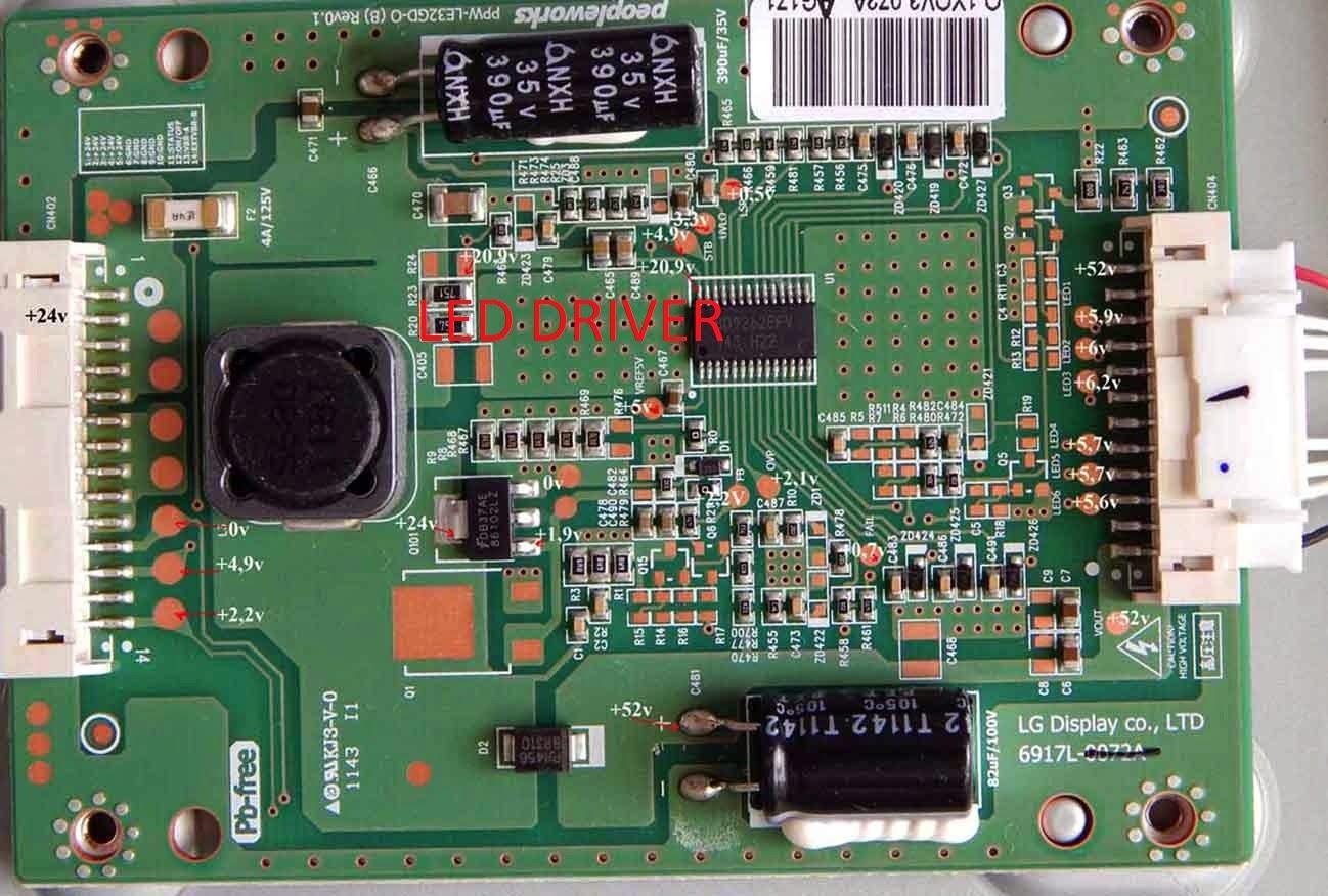 LED Driver 6917L-0072A