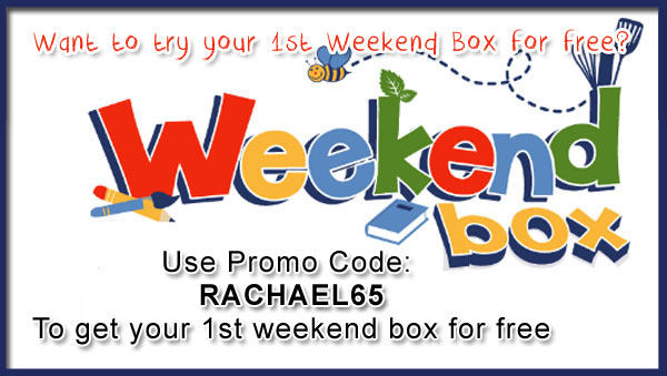 use my promo code to get a free weekend box