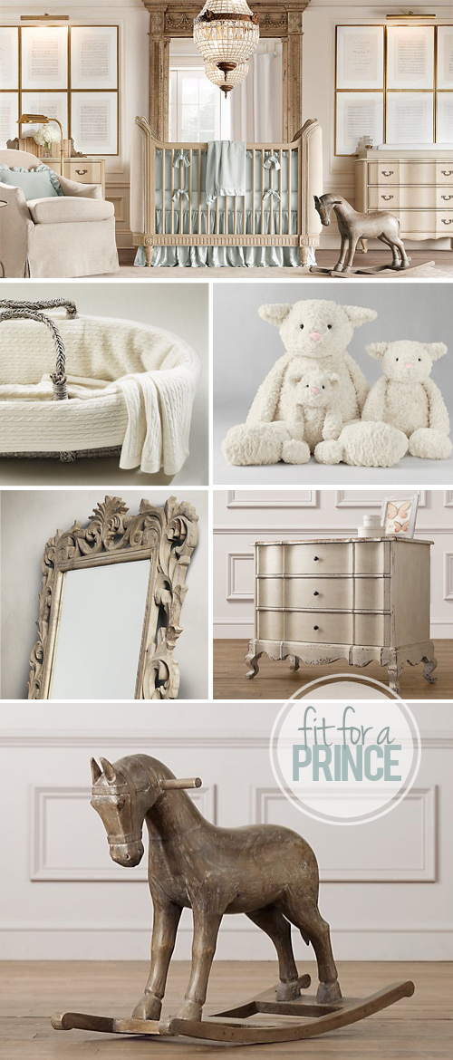 Beautiful Baby Boy Rooms: A Nursery Fit For A Prince • Brittany Stager