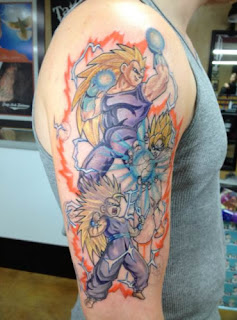 foto 7 de tattoos dragon ball