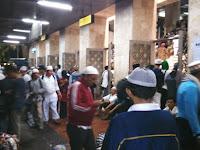 Peserta Aksi 112: Ikhlas demi Umat Islam dan Ulama