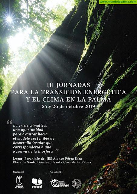 El Cabildo organiza un encuentro en el que se analizará la crisis climática y el potencial de las energías renovables en la isla