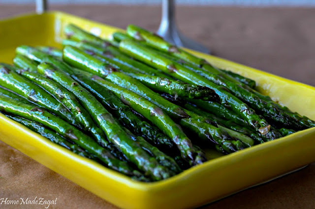 A quick, fresh recipe for sauteed asparagus. Done in less than 10 minutes
