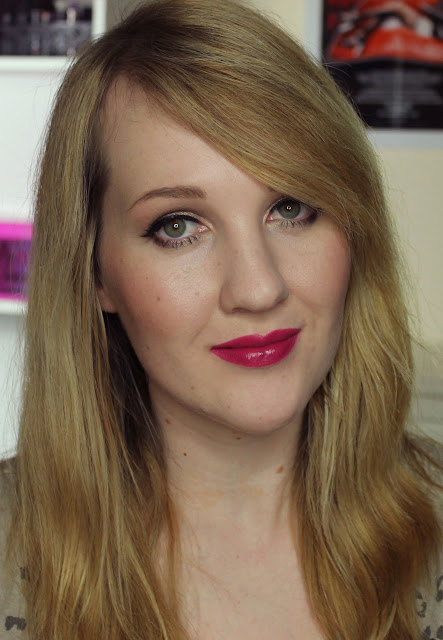 MAC X Philip Treacy Lipsticks - Hollywood Cerise Swatches & Review