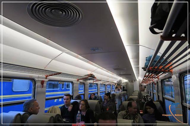 Viagem de trem até Machu Picchucom a Inca Rail, Peru