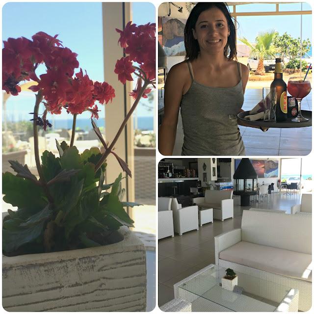 Bonamare beach bar cafe - a taste of paradise in Cyprus