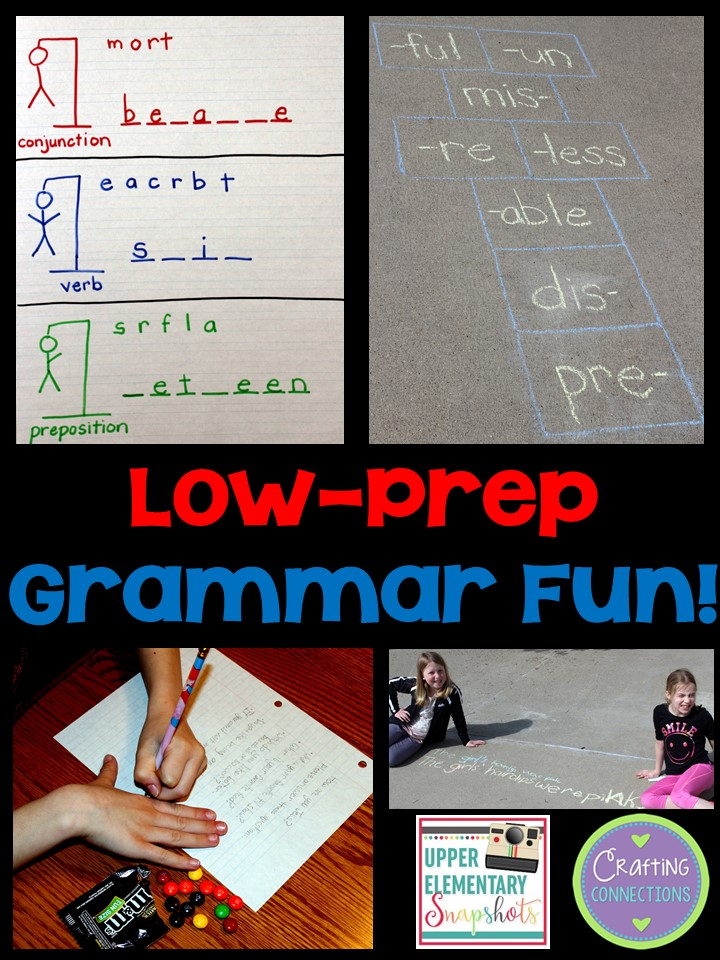Grammar Can Be Fun Check Out This Blog Post Featuring Five Fun Grammar Games And