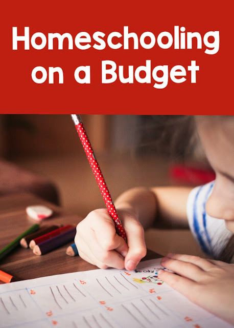 Tips for homeschooling on a budget from The Barefoot Mom