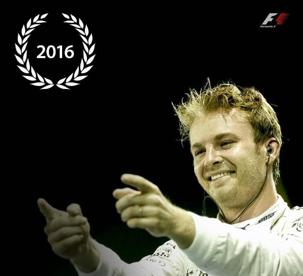 Nico Rosberg se coronó campeón de la Fórmula 1