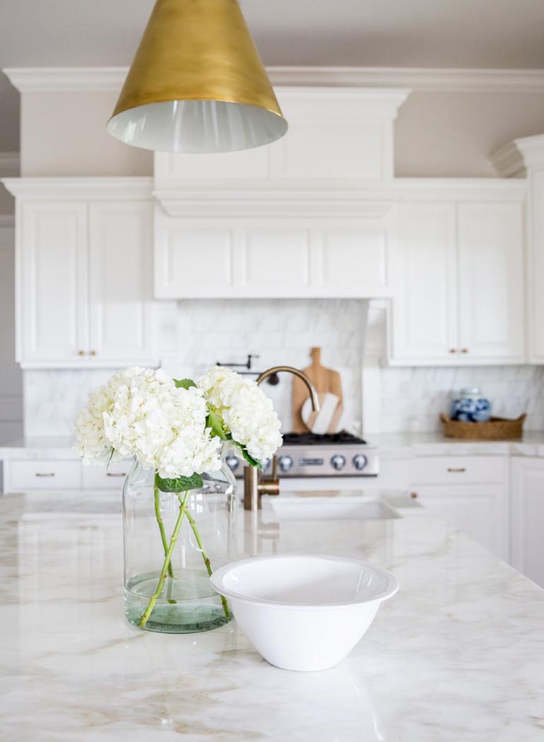 cocina pinterest flores