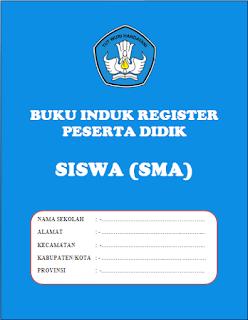 Download Buku Induk Siswa Lengkap TK/PAUD, SD/MI, SMP/MTs, SMA/MA/SMK