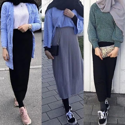 Meilleurs Modèles Robes Hijab Chic Style 2019