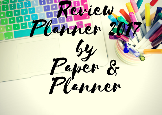 Review Planner 2017 by Paper & Planner