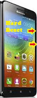 Hard Reset Android Lenovo A5000
