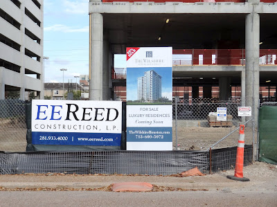 EE REED CONSTRUCTION, L.P. - GENERAL CONTRACTOR JOB SITE POSTING - The Wilshire on Westcreek