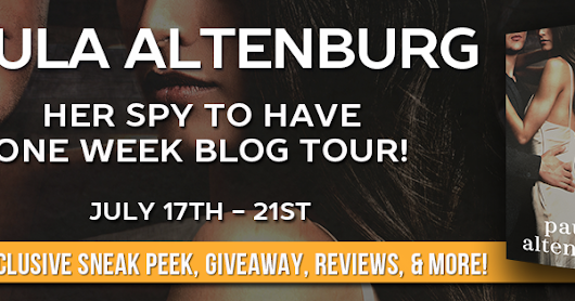 Giveaway & Excerpt Her Spy to Have by Paula Altenburg
