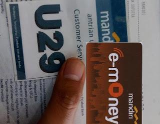 Terkait Masalah e-mOney Bank Mandiri