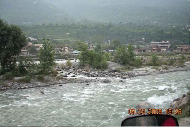 manali , beas river , hill station in himachal pradesh