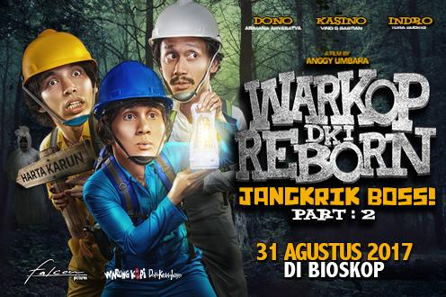 Film WARKOP DKI REBORN: JANGKRIK BOSS PART 2 Bioskop