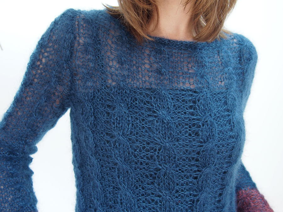 Silent by Kim Hargreaves, knit by Dayana Knits