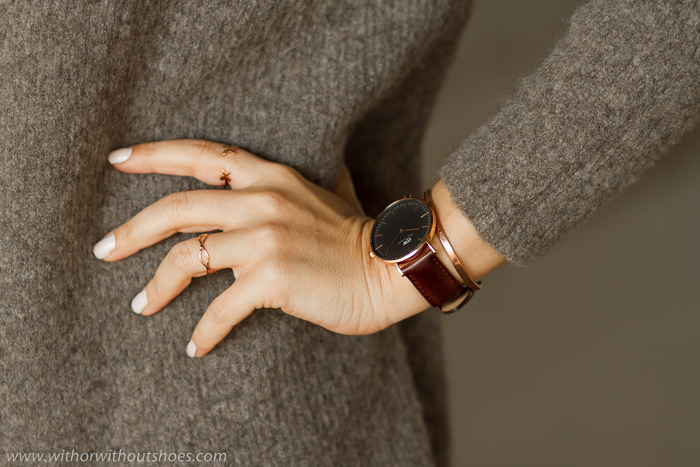 Reloj de la nueva colección Classic Black de Daniel Wellington