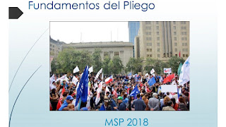 Fundamentos de pliego de peticiones Mesa del Sector Público