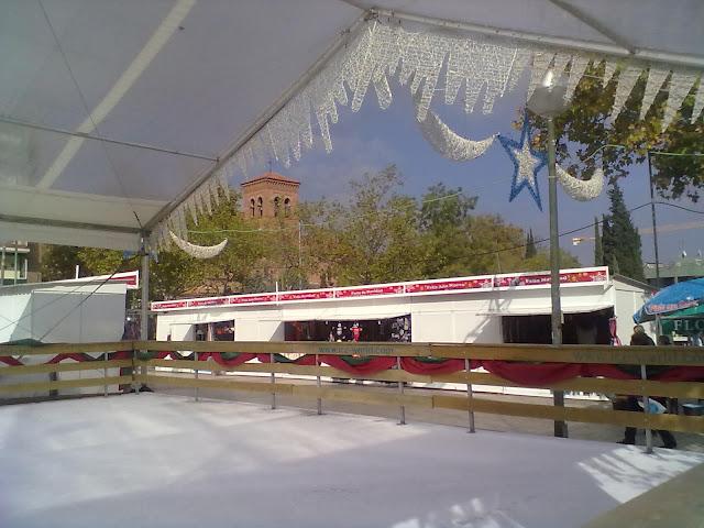 Pista de patinaje sobre Hielo en Ciudad Lineal 2011