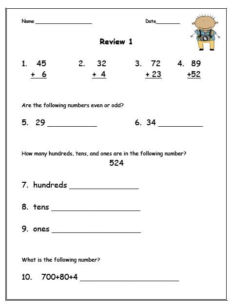 It is a graphic of Impeccable First Grade Homework Packets Printable