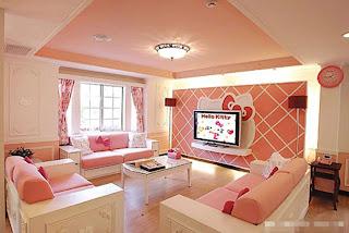 Gambar Ruangan Hello Kitty yang Indah 5