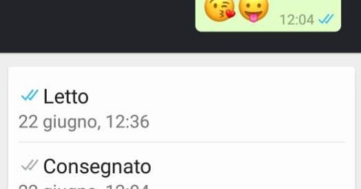 Quando e chi ha letto un messaggio whatsapp - Come sapere se un sms e stato letto ...