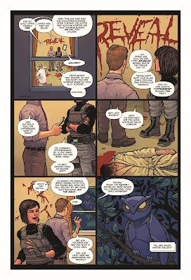 Marvel Nighthawk - Stadt in Flammen | aus dem Inhalt