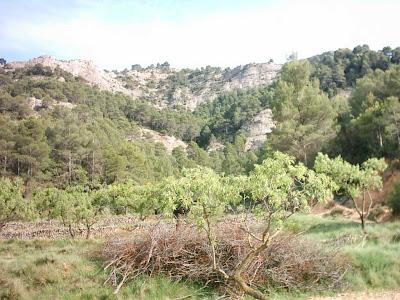 Pantano ,embalse, Pena ,Beceite ,frontera ,Valderrobres, vistas
