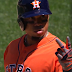 Luis Valbuena punched out on strike two vs Seattle (Video)