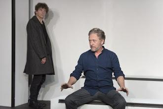 Théâtre : Pour un oui ou pour un non de Nathalie Sarraute - Mise en scène Léonie Simaga - Avec Nicolas Briançon et Nicolas Vaude - Poche Montparnasse