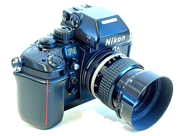 Nikon F4, Nikkor 85mm f/2 Ai-S