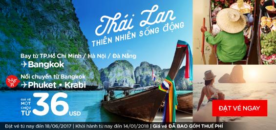 Thái Lan - thiên nhiên sống động