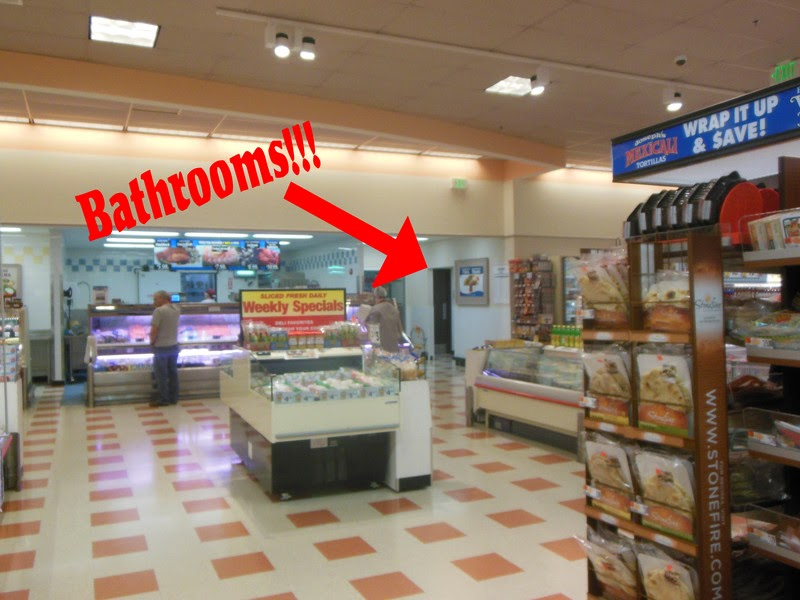 Looking for the Bathroom and Finding a Miracle in the Grocery Store -- It's inevitable. If you take a preschooler grocery shopping, you're going to end up in the restroom sooner or later. Sometimes though, you might just be pleasantly surprised when you do.  {posted @ Unremarkable Files}